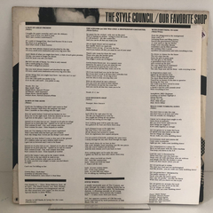 Lp The Style Council-our Favorite Shop (est. Ótimo)importado - Midwest Discos