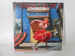 Lp Cyndi Lauper - She`s So Unusual Japan Sem Obi