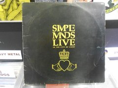 Lp Simple Minds - Live In The City Of Light