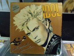 Lp Billy Idol - Whiplash Smile Com Encarte