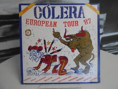 Lp Cólera - Live ´european Tour 87