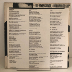 Lp The Style Council-our Favorite Shop (est. Ótimo)importado na internet