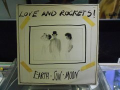 Lp Love And Rockets - Earth, Sun, Moon