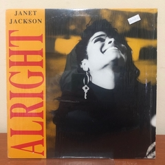 "LP Janet Jackson - Allright 12""MIX Importado"