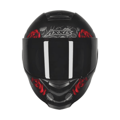 AXXIS EAGLE FLOWERS MATT BLACK-RED na internet