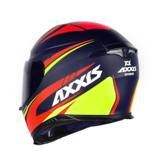 Imagem do AXXIS EAGLE HYBRID MATT BLUE RBR (TAM. 60)