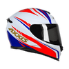 AXXIS EAGLE HYBRID WHITE-BLUE-RED (TAM. 56)