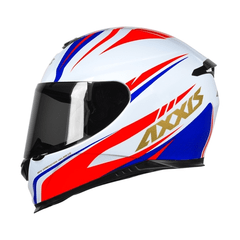 AXXIS EAGLE HYBRID WHITE-BLUE-RED (TAM. 56) - loja online