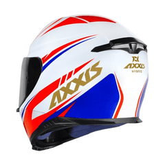 Imagem do AXXIS EAGLE HYBRID WHITE-BLUE-RED (TAM. 56)