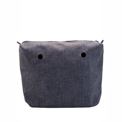 BOLSA INTERIOR JOIN! HANDBAGS GRIS
