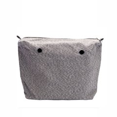 BOLSA INTERIOR PLATEADA JOIN! HANDBAGS