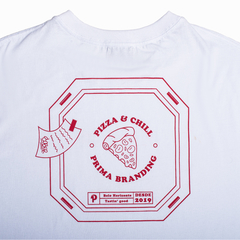 Imagem do CAMISETA MANGA CURTA PIZZA & CHILL