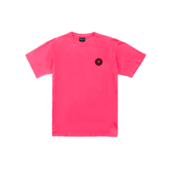 CAMISETA LISA PATCH EMBORRACHADO ROSA