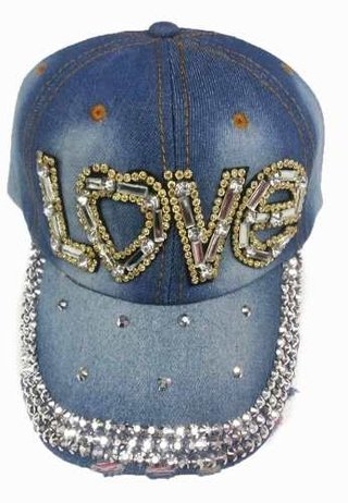Bone Jeans Feminino Strass Lavado Funk Girl 987e0033320