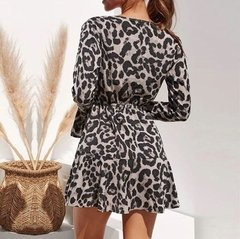 Vestido Animal Print ref 242 na internet