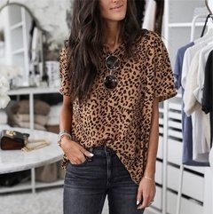 Blusa Estampa Animal Print Ref 2070