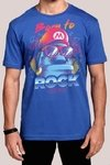 Camiseta Masculina Super Mario Born To Rock