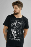 Camiseta Masculina The Joker Face