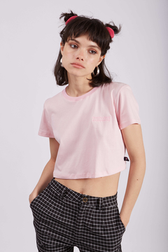 CROP KILLY ROSA - comprar online