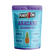 ABACAXI DESIDRATADO (30G) - POWER ONE