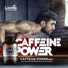 CAFFEINE POWER (60 CAPS) LAVITTE na internet