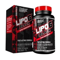 LIPO 6 BLACK ULTRA CONCENTRATE (60 CAPS) - NUTREX