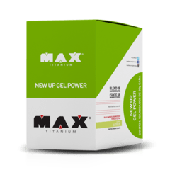 NEW UP GEL POWER (10 UNDS DE 30G) - MAX TITANIUM