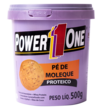 PASTA DE AMENDOIM PÉ DE MOLEQUE PROTEICO (500G) - POWER ONE