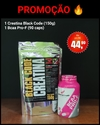 KIT BCAA PRO-F + CREATINA BLACK CODE
