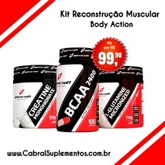 KIT RECONSTRUÇÃO MUSCULAR BODY ACTION