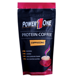 PROTEIN COFFEE CAPPUCCINO (100G) - POWER ONE