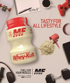 WHEY-KULT (1030G) - MUSCLE FULL - comprar online