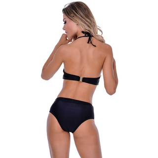Biquíni Com Bojo Hot Pants Preto Summer Soul