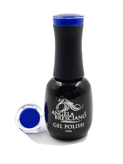 GEL POLISH  ANGELA BRESCIANO  COLOR AZUL