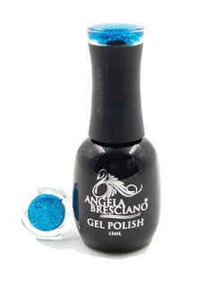 GEL POLISH  ANGELA BRESCIANO  COLOR FLOK TURQUEZA