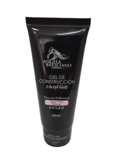 GEL DE CONSTRUCCIÓN ACRYL GEL ANGELA BRESCIANO COVER PINK SHINNER 60 ML