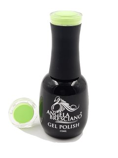 GEL POLISH  ANGELA BRESCIANO  COLOR VERDE LIMA