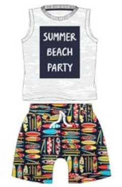 Conjunto Summer Beach - Baby Boy Boutique