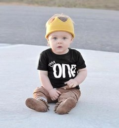 Camiseta One - Baby Boy Boutique