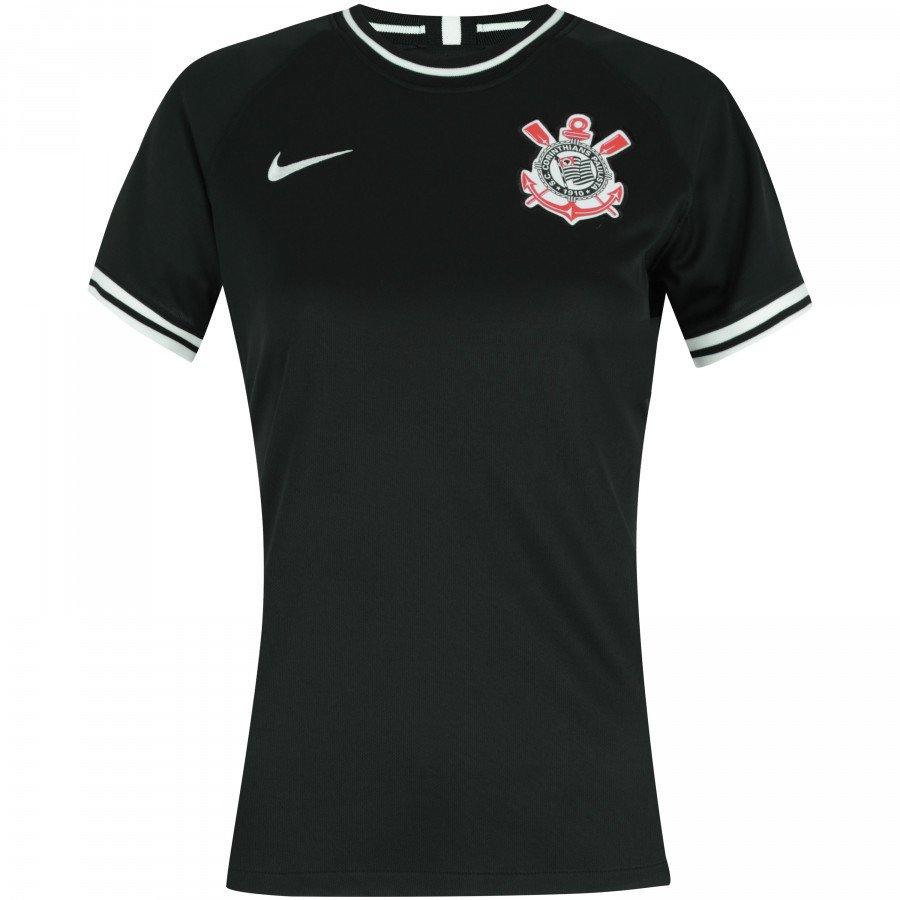 Camisa Nike Corinthians Ii 201920 Feminina Personalização Grátis