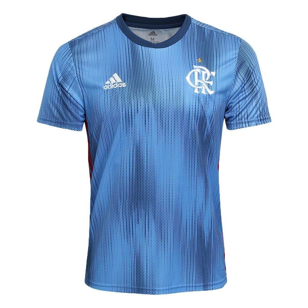 6ee378fa85 ... Camisa Flamengo III 2018 s n° Torcedor Adidas Masculina - Azul. 15% OFF