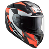 Casco 327 Challenger Squadron Mate Fluo Naranja
