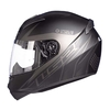 Casco 352 Rookie Lighter Negro Gris Mate - comprar online