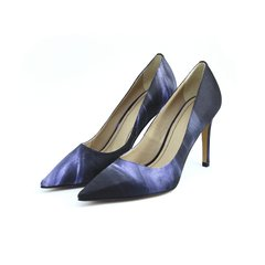 Scarpin estampado Black Chic salto 9