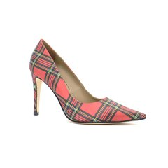 Scarpin estampado London salto 9