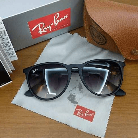 43f431811 Óculos Ray ban Erika Velvete Preto - Mvl imports
