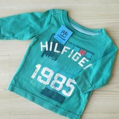 REMERA M LARGA - TOMMY HILFIGER - 6 MESES