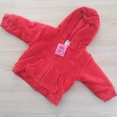 CAMPERA ABRIGO PLUSH - CHEEKY - S (3-6 MESES)