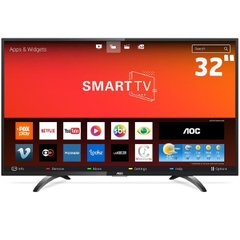 TV 32P AOC LED SMART WIFI HD HDMI - 32S5295