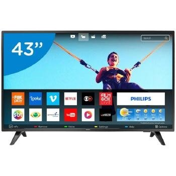TV 43P PHILIPS LED SMART WIFI FULL HD USB - 43PFG5813